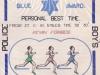 Kevin Forbes Blue PB Award 30:30 1981-11-27